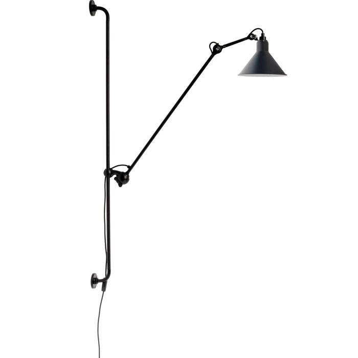 DCW Editions lampe gras N214 wandlamp blauw