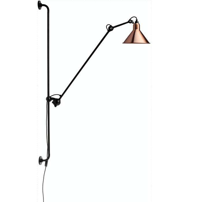 DCW Editions lampe gras N214 wandlamp koper
