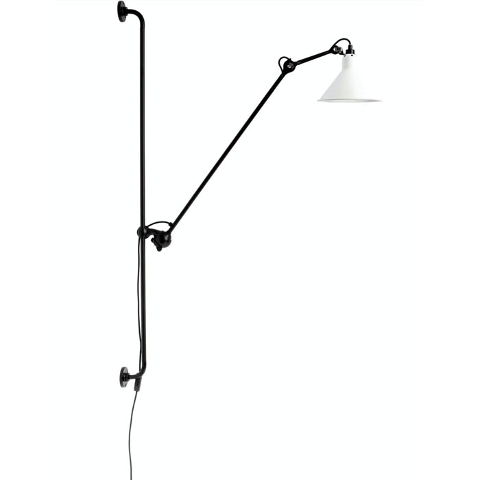 DCW Editions lampe gras N214 wandlamp wit