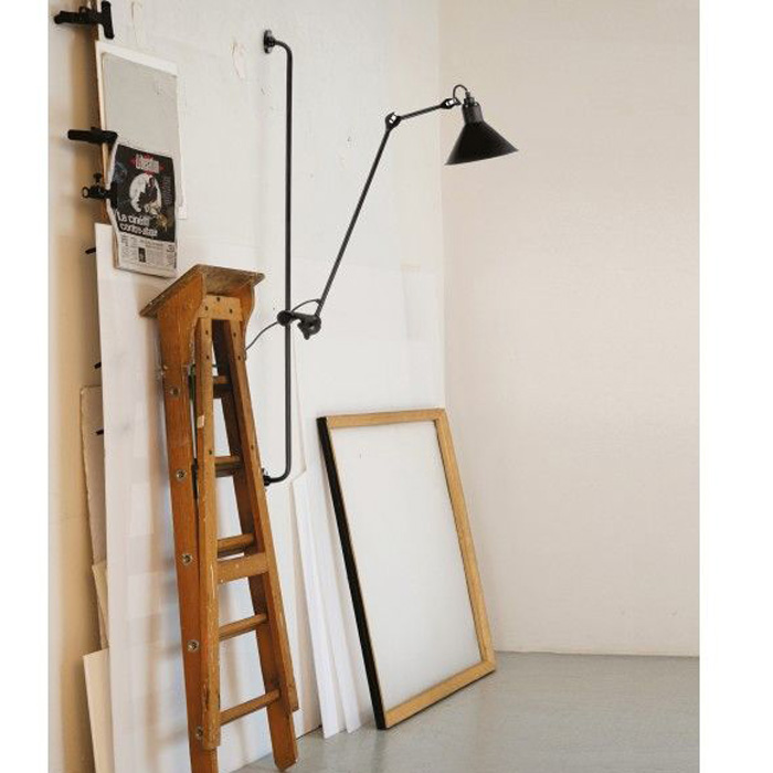DCW Editions lampe gras N214 wandlamp
