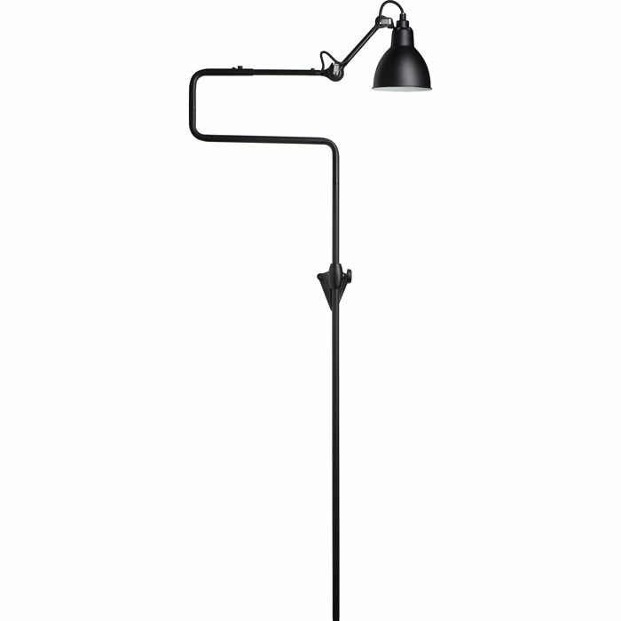 DCW Editions lampe gras N217 wandlamp zwart