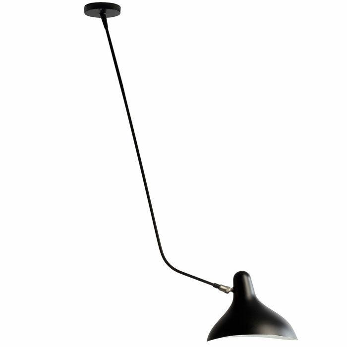 DCW Editions Mantis BS4 plafondlamp zwart