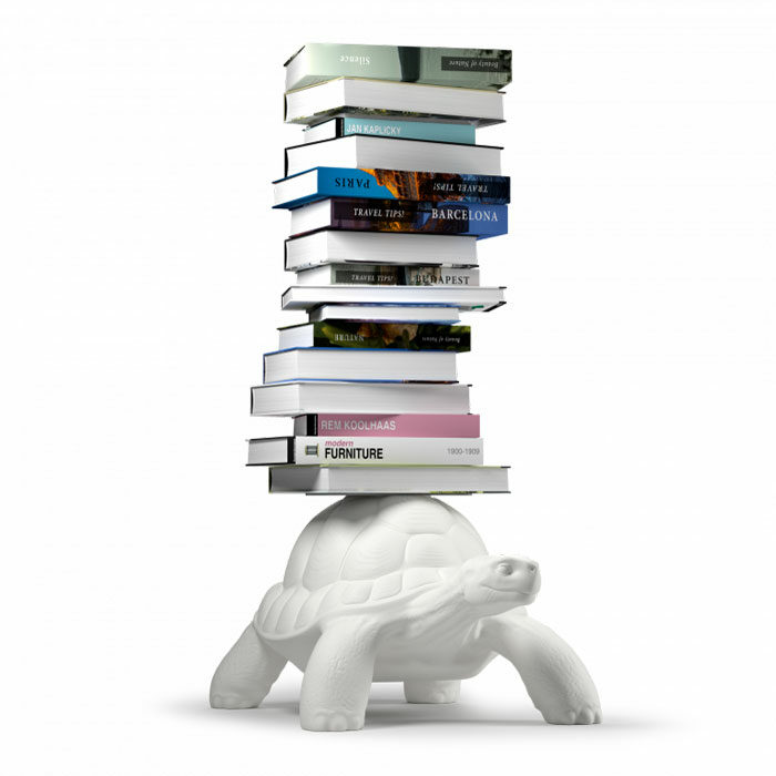 Qeeboo carry turtle bookcase