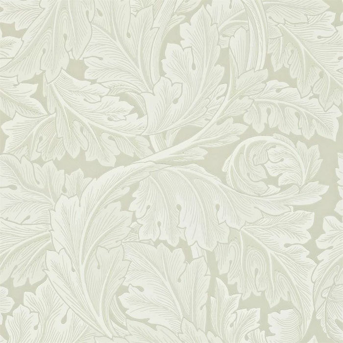 Morris and Co Acanthus Chalk 212554