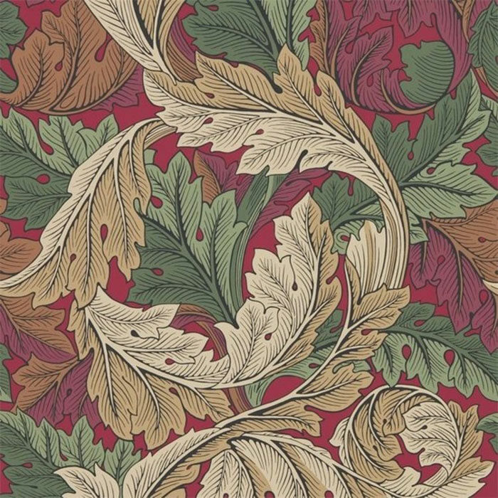 Morris and Co Acanthus Madder Thyme 216439