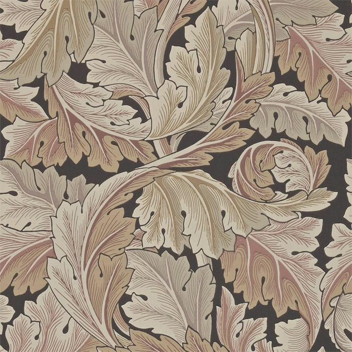 Morris and Co Acanthus terracotta 212551
