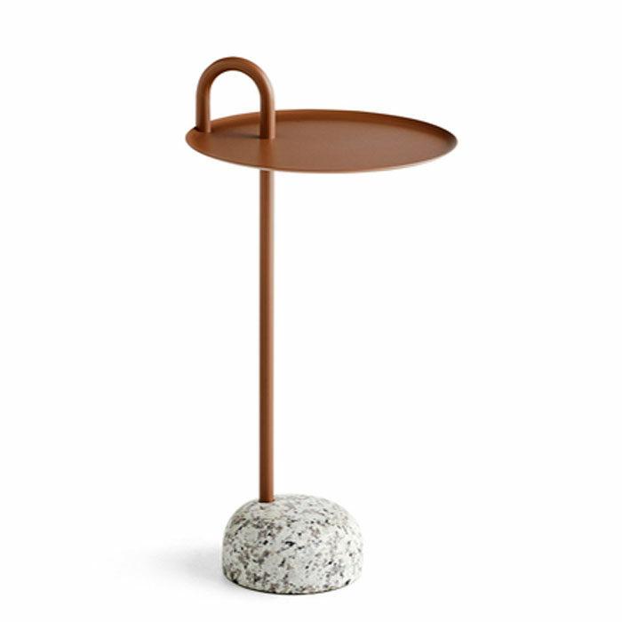 Hay Bowler side table pale brown