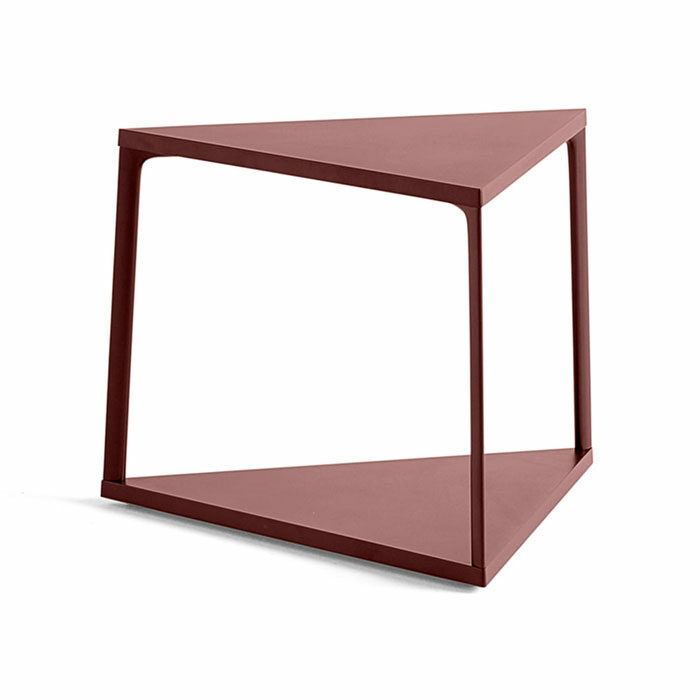 Hay Eiffel Side table brick red