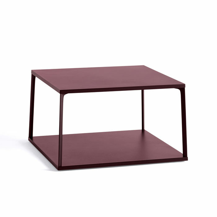 Hay Eiffel Coffee table square dark brick
