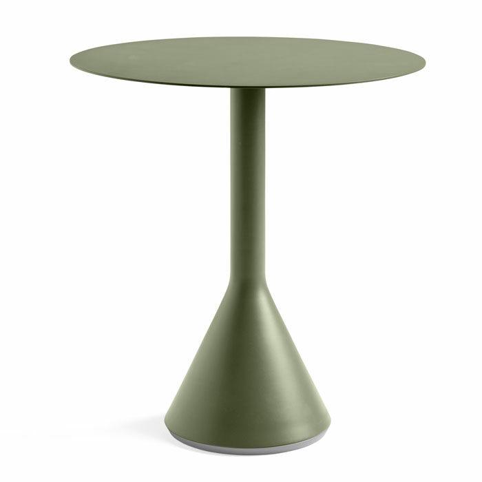Hay Palissade Cone Table olijfgroen