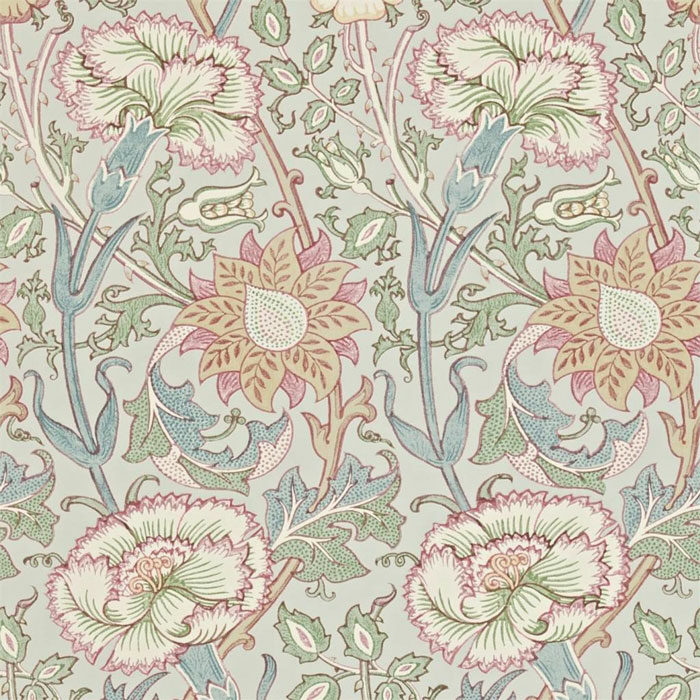 Morris and Co Pink and Rose Eggshel/rose 212568