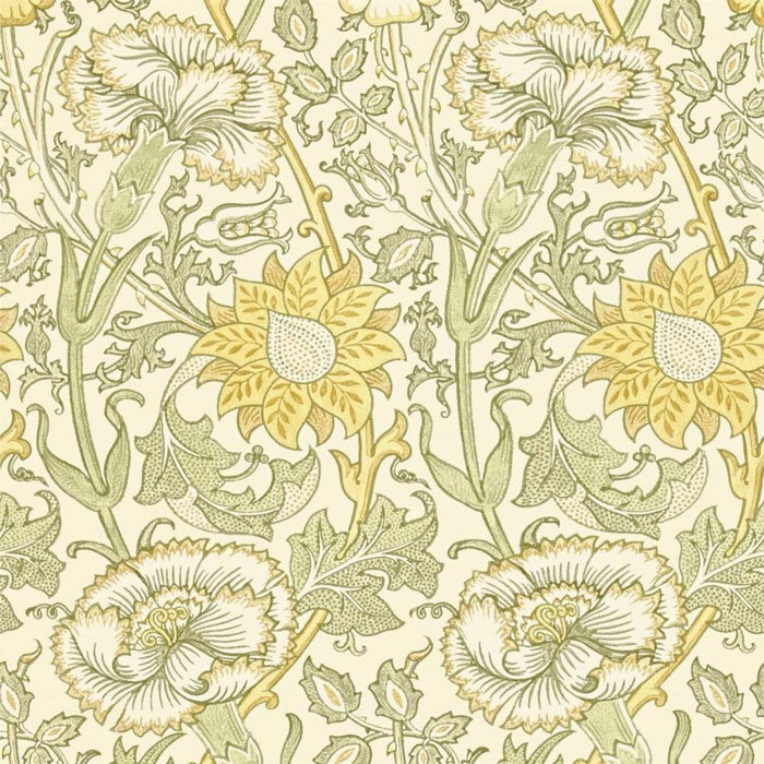 Morris and Co Pink and Rose Cowslip/fennel 212569