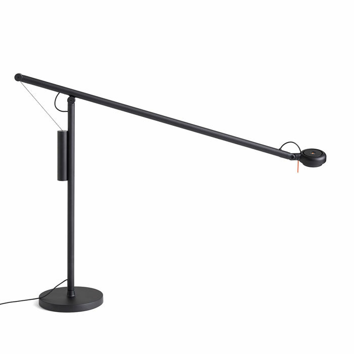 Hay Fifty-fifty table lamp black