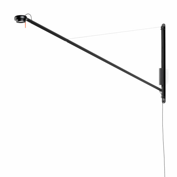 Hay Fifty-Fifty wall lamp soft black