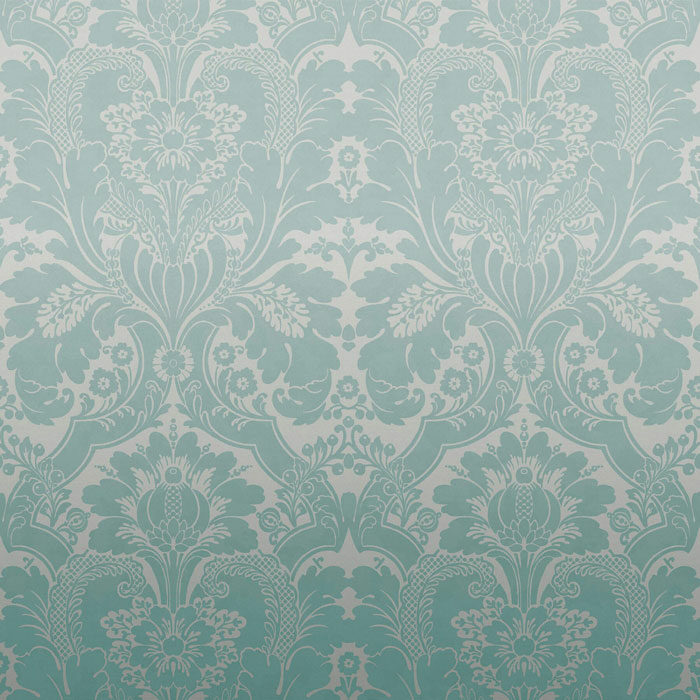 Little Greene St James Park Teal Fade