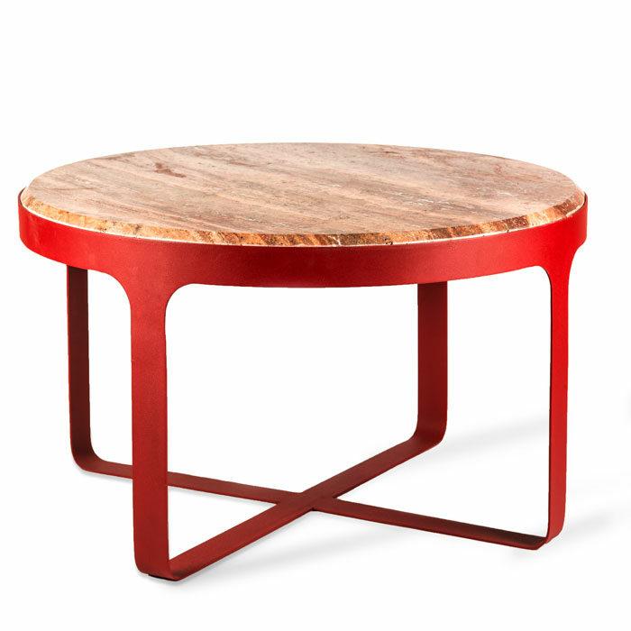 Pols Potten Side Table Stoner rood