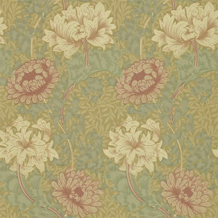Morris and Co Chrysanthemum 210414