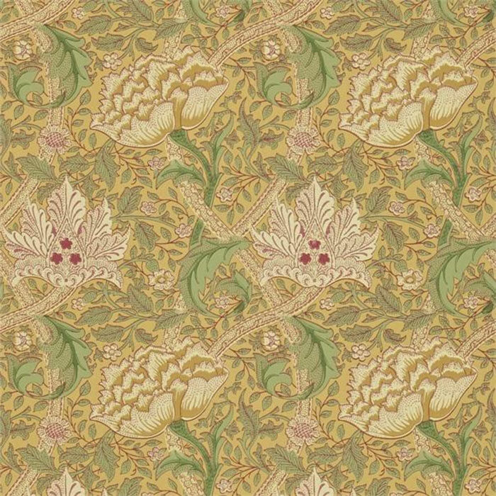 Morris & Co behang Windrush Gold & Thyme 210494
