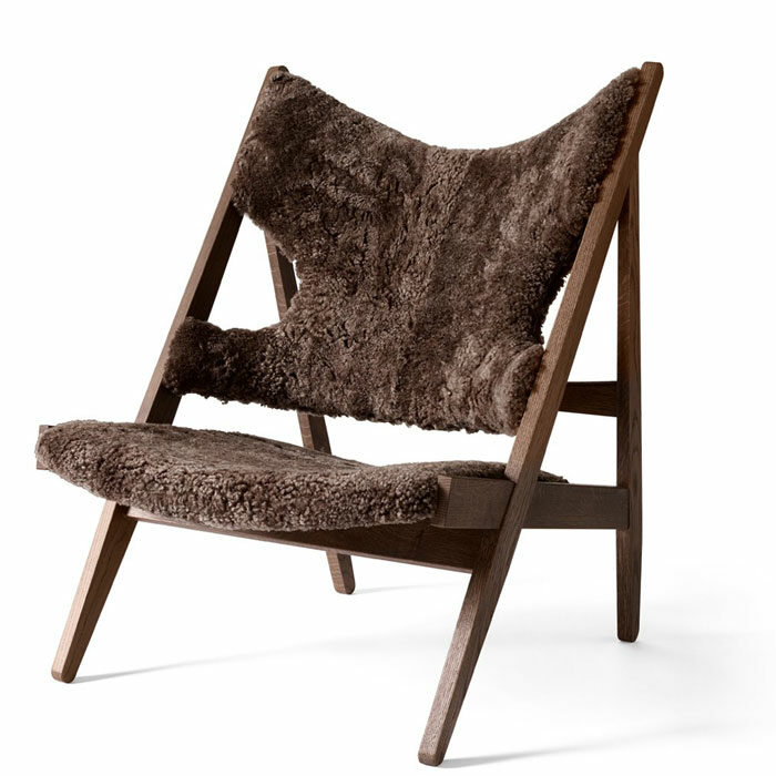 Menu Knitting Chair Sheepskin