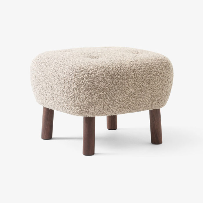 &tradition Little Petra Pouf ATD1 Karakorum walnoot