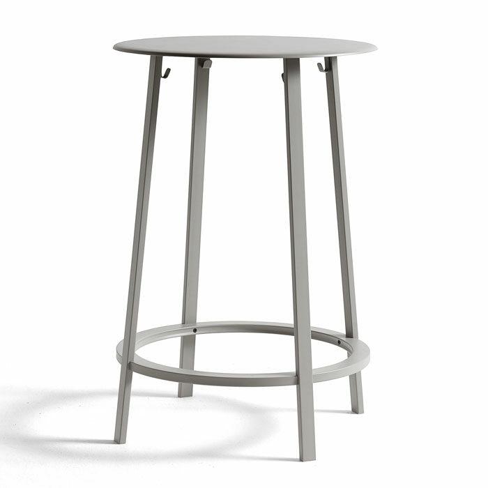 Hay Revolver Bar Table sky grey