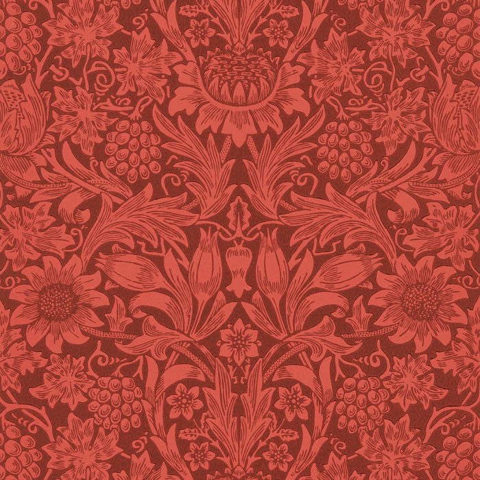 Morris-and-Co-Sunflower-Chocolate-red-216960.jpg