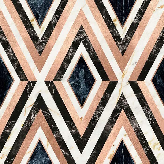 Mind the Gap Diamonds in copper metallic edition WP20291