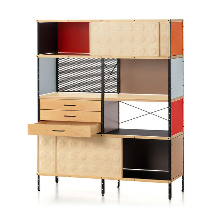 Vitra Eames Storage Bookcase Unit ESU