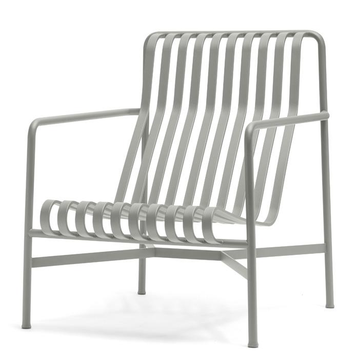 Hay Palissade Lounge chair high sky grey