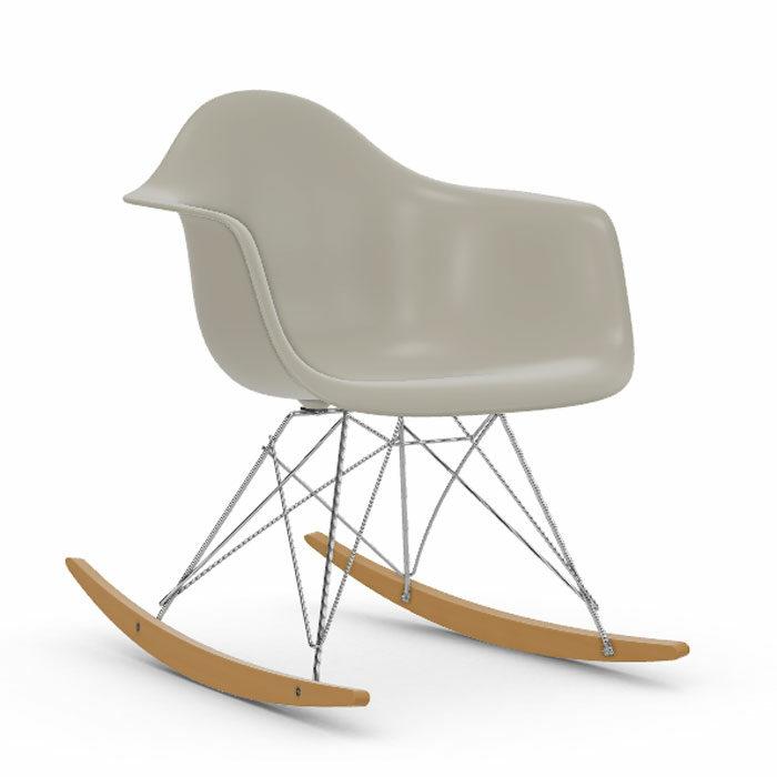 Vitra Eames RAR schommelstoel esdoorn goud