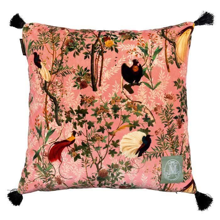 Mind the Gap Royal Garden pink velvet