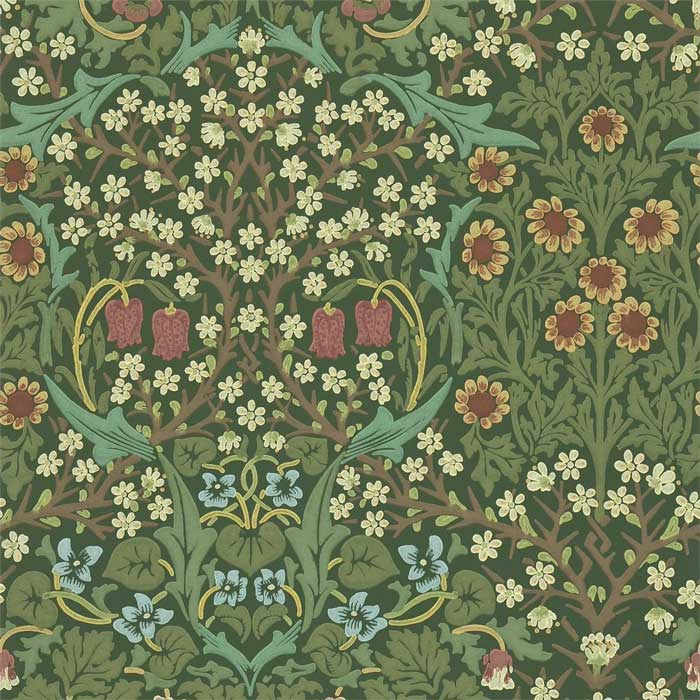 Morris and Co blackthorn green 216857