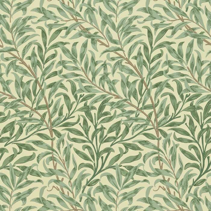 Morris and Co Willow boughs green 210490