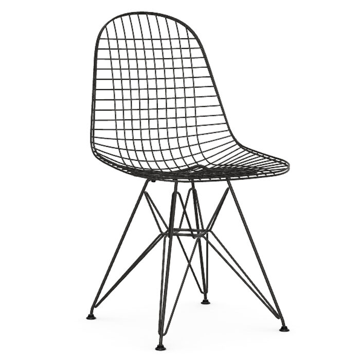Vitra Eames Wire Chair DKR stoel
