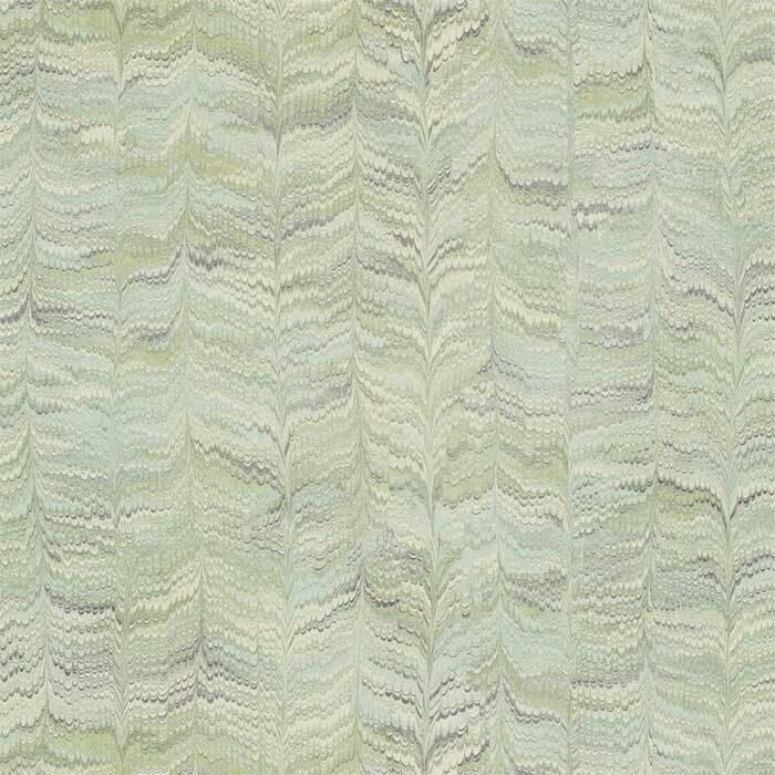 Zoffany behang Jaipur plain groen 311725