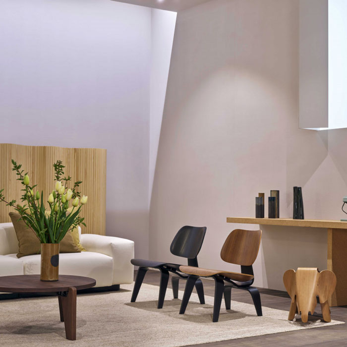 Vitra Eames Plywood LCW 75 Fauteuil Anniversary Edition