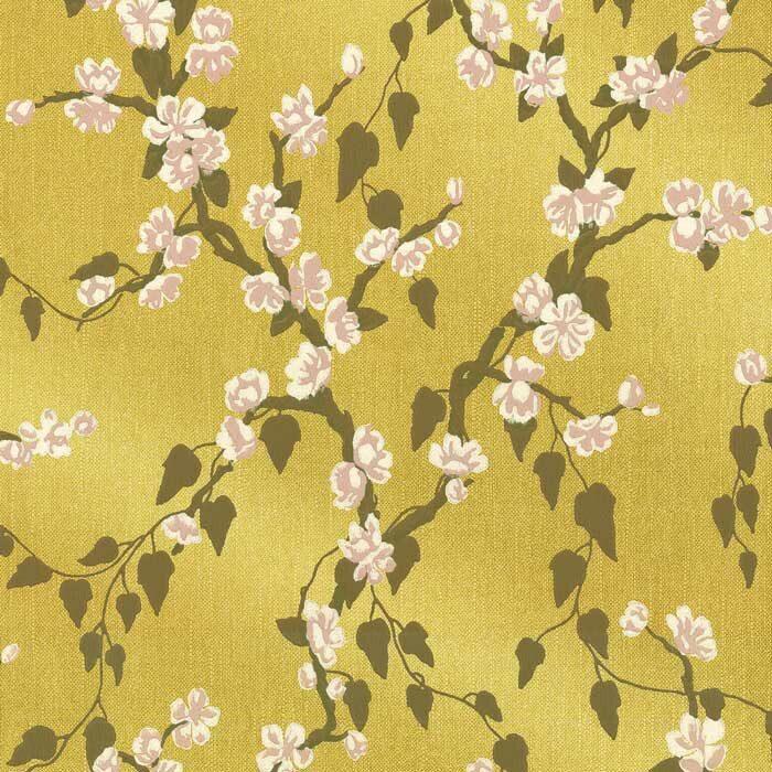 Little Greene sakura yellow lustre