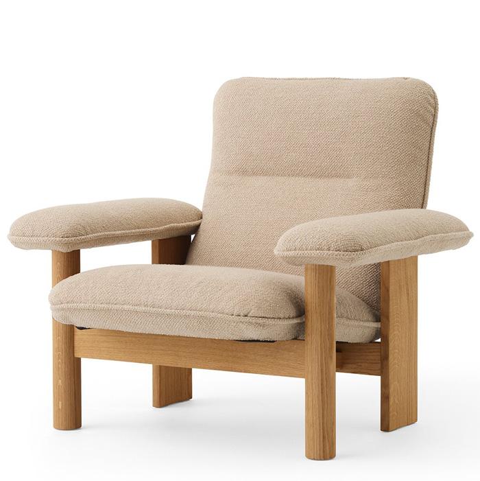 Menu Brasilia Lounge fauteuil