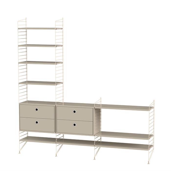 String Furniture Bundle J beige