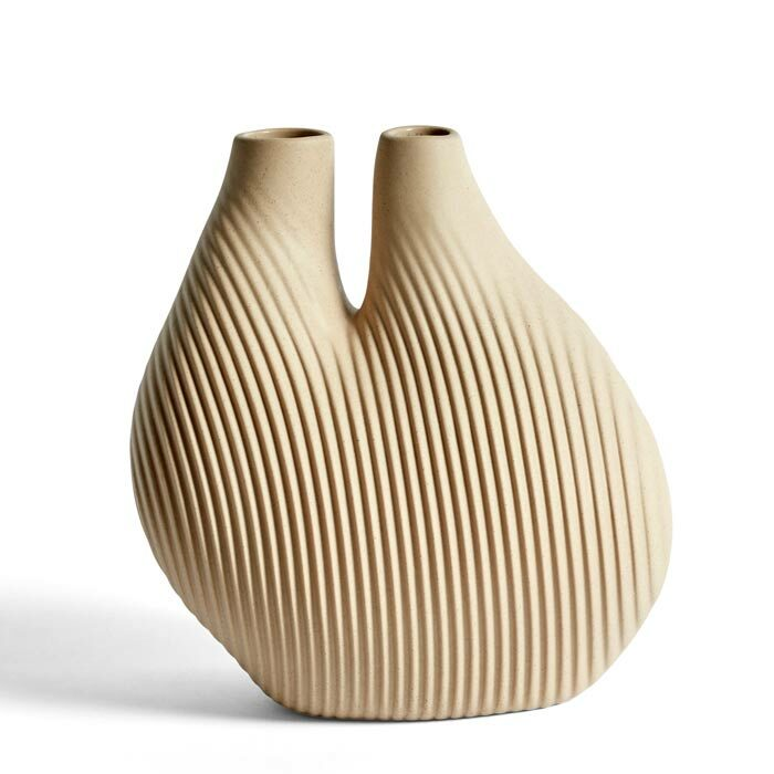 Hay W and S Chamber vase light beige