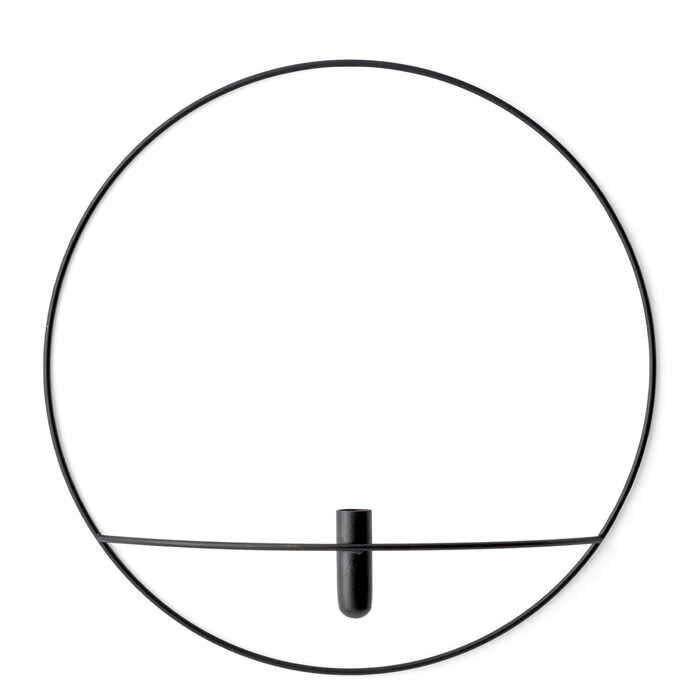 Menu Space POV Circle Vase L black