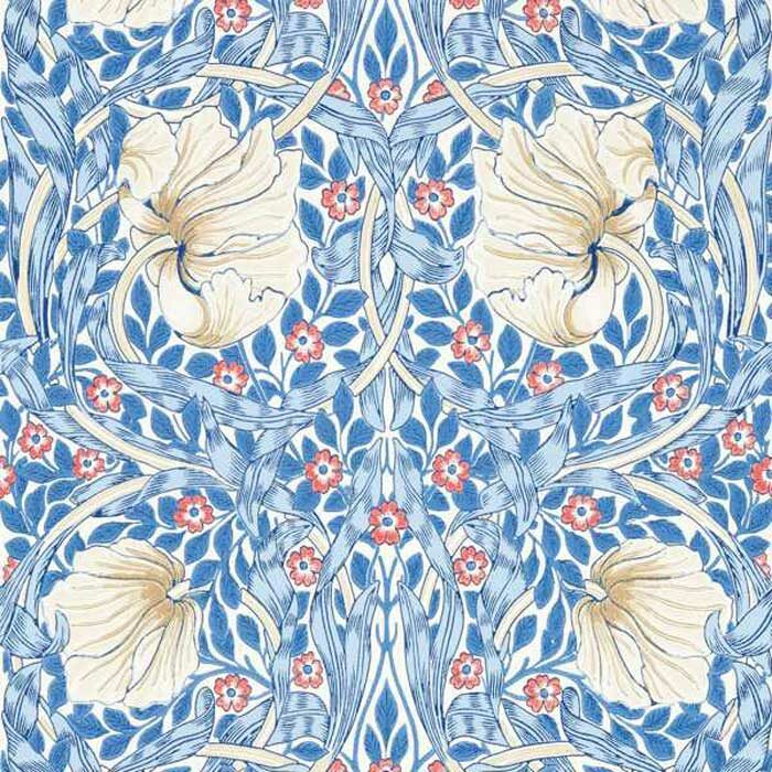 Morris and Co Pimpernel Woad 217062
