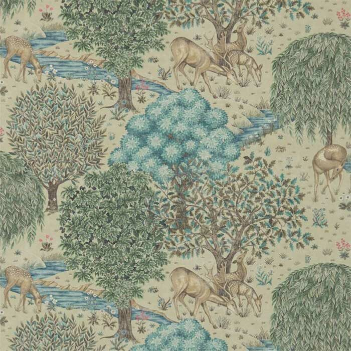 Morris and Co the Brook Linen 216478